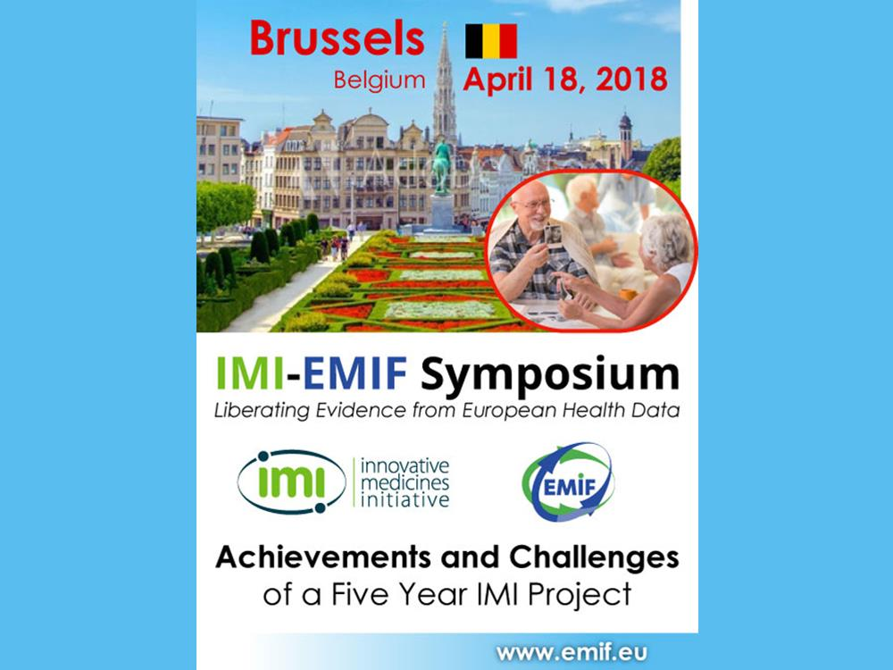 IMI-EMIF symposium - 18 April 2018, Brussels