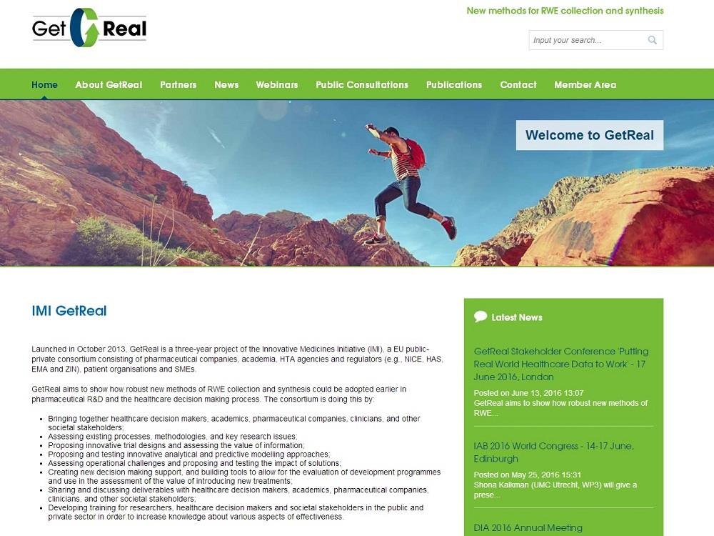 New look GetReal website